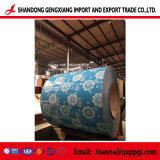 Mármol/madera/Flower/ladrillo revestido de Color de trama de la bobina de acero galvanizado PPGI/PPGL