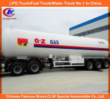 ナイジェリアのためのASME 56000L LPG Transport Trailer 25tons LPG Tank Trailer