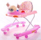 Оптовый дешевый ходок младенца с колесами шарнирного соединения