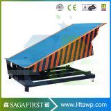 10ton 16ton hydraulische elektrische örtlich festgelegte Behälter-Dock-Rampe