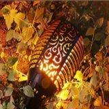 El Parpadeo de LED de iluminación exterior la llama del paisaje de la luz de linterna solar