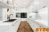 フォーシャン新しいデザイン現代高い光沢のあるラッカー木の卸し売り食器棚(BY-L-114)