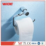 Suporte fixado na parede do tecido de banheiro, suporte do rolo do papel higiénico