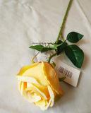Flores artificiales de seda verdadero toque para la decoración del hogar