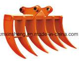 Cubeta da máquina escavadora da esteira rolante com os dentes para a maquinaria resistente de KOMATSU