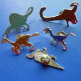 Personalizado Lapel Pins, Dinosaur Shape Badge (GZHY-LP-011)
