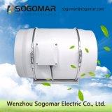 Baixo ruído de ventoinha do duto do ventilador do extrator 300mm