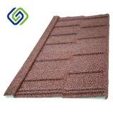 Azulejo de azotea revestido de la piedra de la ondulación/ripia de aluminio del material para techos del cinc/azulejo de azotea de acero revestido de la arena colorida