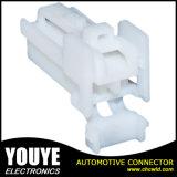 610392 2つのPinの白い男性の防水電気自動コネクター