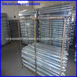 Gekennzeichnete galvanisierte Stahlbodenschraube für Solarmontage