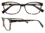 Het recentste Met de hand gemaakte Frame van Eyewear van de Manier van de Glazen van het Voorschrift van Eyewear van de Acetaat