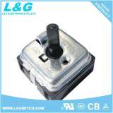 De Controle van de Motor van de mixer 2 tot 5 Roterende Schakelaars van de Selecteur van de Positie
