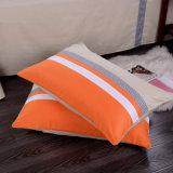 100cotton反応プリントオレンジパッチワークの寝具セット