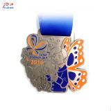 ロゴ創造的なパターン金属メダルをカスタマイズしなさい