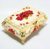 Boîte à bijoux Fancy Pink OEM / Boîte à anneaux en coton de luxe / Boîte à collier