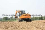 Estándar excavador de la rueda de 7 toneladas con el compartimiento