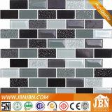 壁の背景(M838003)のためのストリップのガラスモザイクそして石の大理石