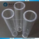El plástico claro de PMMA tubo hueco del tubo de acrílico sólido