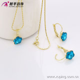 Women의 Best Gift 63175를 위한 Xuping Fashion High Quality Graceful Crystal Jewelry Set