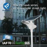 Het Licht van de Sensor van de slimme 40W IP65 Zonne Openlucht LEIDENE Straat van de Tuin