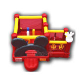 Mini castillo de salto inflable de Mickey/castillo inflable Chb244 del Moonwalk