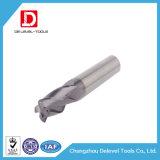 Utensili per il taglio del laminatoio di estremità del raggio dell'angolo del carburo di alta precisione