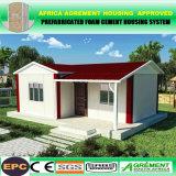 Modernes Schaumgummi-Kleber-Flachgehäuse-vorfabriziertes modulares Haus/Gebäude/Büro