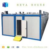 Prezzo prefabbricato della Malesia della Camera dell'accampamento del contenitore del blocco per grafici d'acciaio di basso costo
