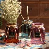 結婚式の装飾の多彩なガラス花つぼ