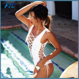 여자 붕대 가죽끈 브라질 비키니 수영복