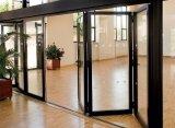 Preiswerter Preis, der Bifold Aluminiumfenster faltet
