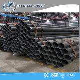 1/2のインチ4のインチERWの家具のための黒い穏やかな鋼鉄管の鋼管