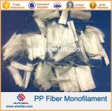 Los monofilamentos de microfibra de polipropileno PP Fibra Fibra Fibra