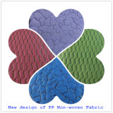 Patrón hermoso Nonwoven Fabric para el embalaje de flor (personalizado)