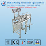 Controladora de peso y del peso que controla la máquina con líneas dobles para la industria alimenticia