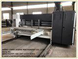 L'imprimante complètement automatique Slotter de papier cartonné de 4 couleurs et meurent le coupeur