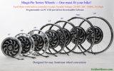 魔法パイ5プログラム可能な構築されるを用いる電気バイクモーター750W 1000W 1500WのVecのコントローラ