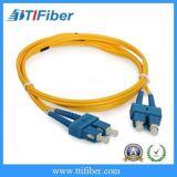 Cavo di zona su un lato della fibra di Sc/APC-Sc/APC