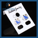 Joyería colgante tarjeta negro gloosy plástico (cmg-092)