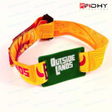 De Manchet van de Armband van de Stof van de Stijl RFID van de manier voor Festival/Vermaak