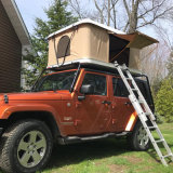 좋은 품질 알루미늄 합금 폴딩 사다리로 야영을%s 단단한 쉘 차 지붕 최고 야영 천막
