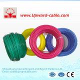 Cable de alambre flexible de cobre aislado PVC de la energía eléctrica