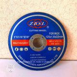 Superfino abrasivos roda de corte em aço inoxidável-350X2.8X25.4