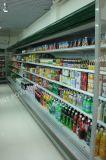 Refrigerador aberto do indicador da leiteria de Multideck do supermercado da cortina de ar