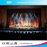 P6.25 Alquiler interiores de alto contraste de pantalla LED LED uniforme Videowall