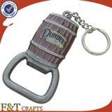 Anello chiave apri di bottiglia di Keychain del metallo del barilotto di birra del ricordo