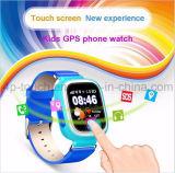 Het drievoudige Plaatsende GPS van Jonge geitjes Horloge van de Drijver met het Kleurrijke Scherm D15