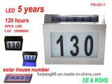 Fq 521-1 светодиодный свет лампы Doorplate номер дома