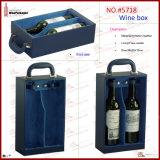De waterdichte Verpakkende Doos van het Glas van de Wijn (2176)
