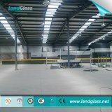 Landglass plano y vidrio curvado de la línea de producción de vidrio templado